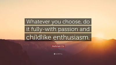 Quotes on enthusiasm and passion