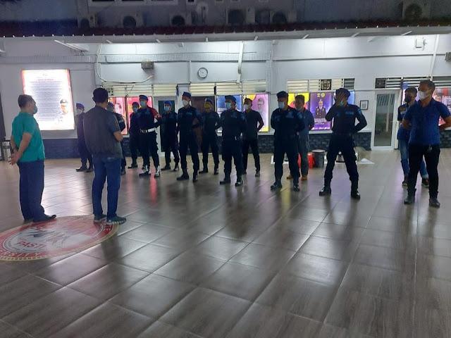 Berantas Peredaran Gelap Narkoba, Lapas Kelas 1 Tangerang Gelar Penggeledahan Blok Hunian WBP