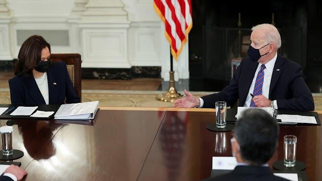 """Biden pidió a la vicepresidenta acciones para """"frenar"""" la migración desde México y  Centroamérica"""