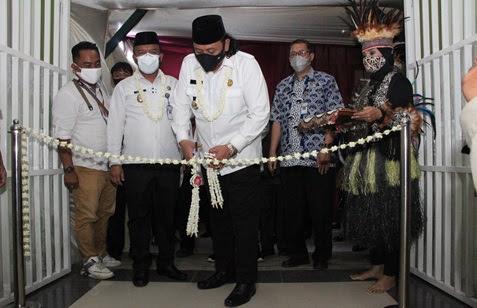 Dedy Yon Launching Pelayanan Rawat Inap Jiwa dan Kemoterapi RSUD Kardinah