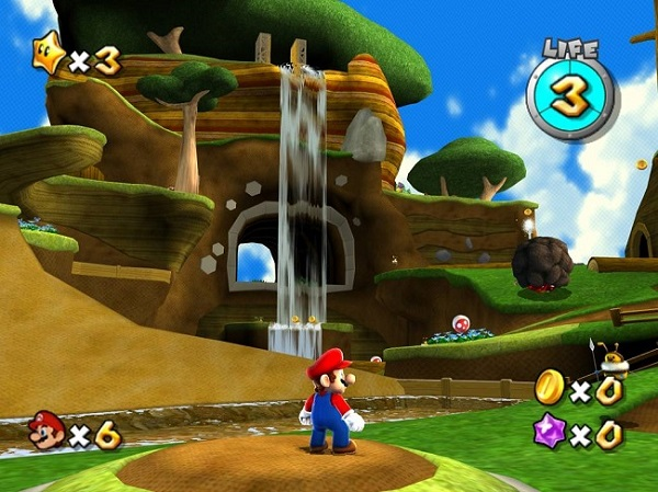 3D Mario has better camera controls
