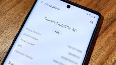 Cara Melihat Spesifikasi Gadget Melalui About Phone di Dalam Smartphone