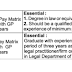 Law Officer and Legal Assistant at AIIMS, Patna - last date 08 August 2019