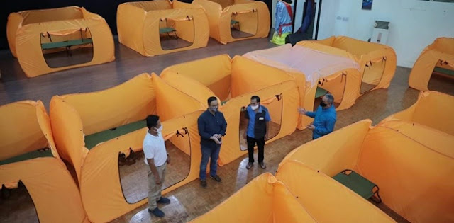 Anies Baswedan Siapkan Bilik Isolasi Mandiri Untuk Warga, Gedung Kesenian Jakarta Pun Ikut Disulap