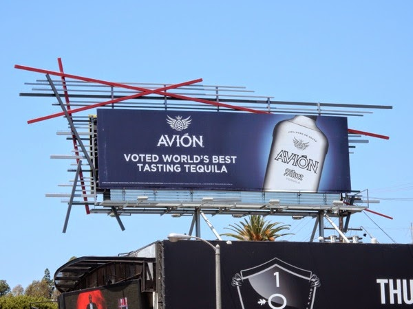 Avion best tasting tequila billboard