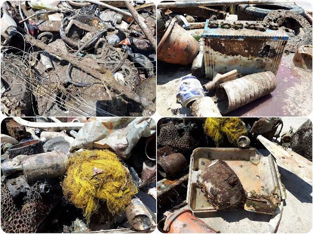 600 κιλά απορριμμάτων από το λιμάνι της Αρχαίας Επιδαύρου έβγαλαν εθελοντές δύτες