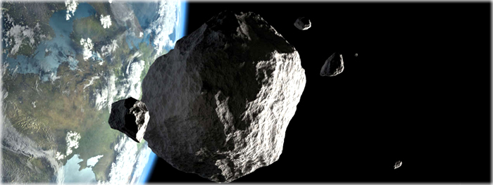 asteroides passam proximo da terra ate domingo 13 outubro 2019