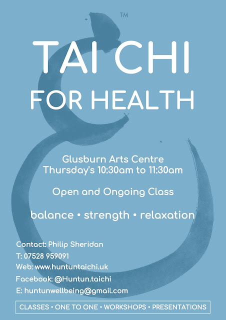 Tai Chi for Health at Glusburn Institute Community & Arts Centre - Poster