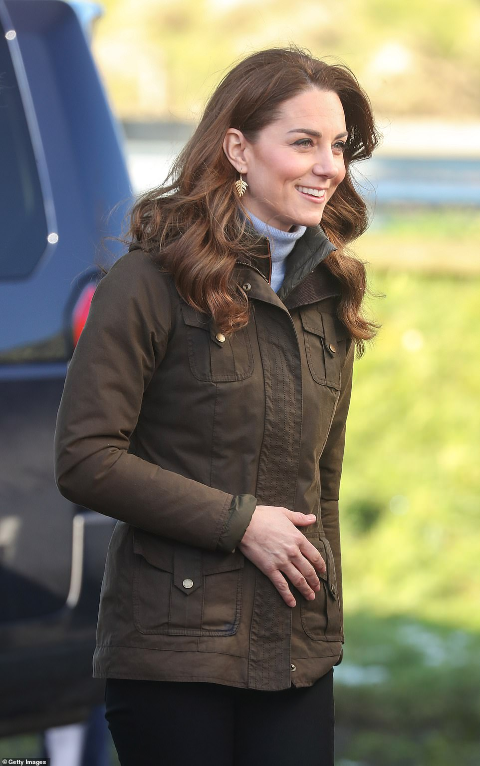 "Duchess Kate had a Busy Day Visiting Both Scotland and Northern Ireland Promoting Her Survey ""5 Big Questions on the Under-Fives"""