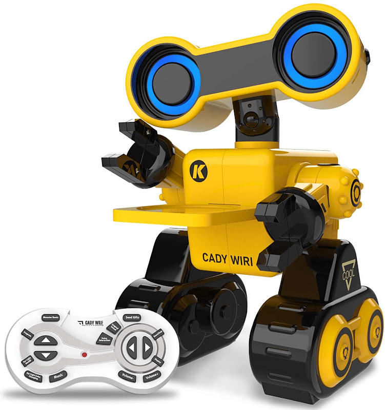 HBUDS Toy Remote Voice Control, Programmable, Touch Sensing Robot