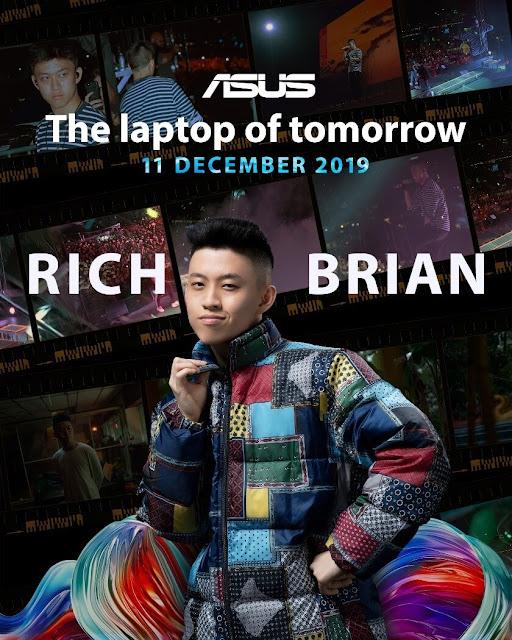 Rich Brian Resmi Menjadi Brand Ambassador Laptop ASUS