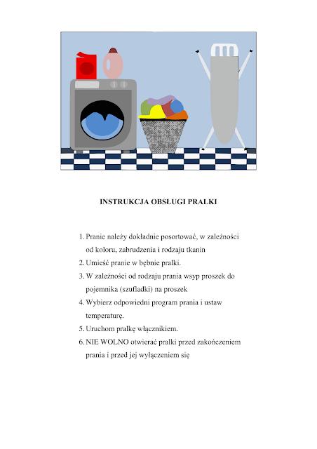 aktywnispecjalni: Przysposobienie do pracy - pranie
