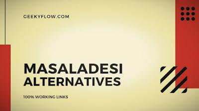 Masaladesi Alternatives 2019 - पूरी जानकारी हिंदी में।