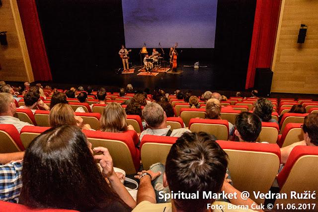 Koncert&Film: Spiritual Market @ Vedran Ružić