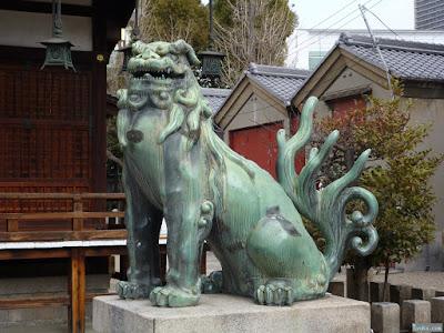 野田恵美須神社狛犬