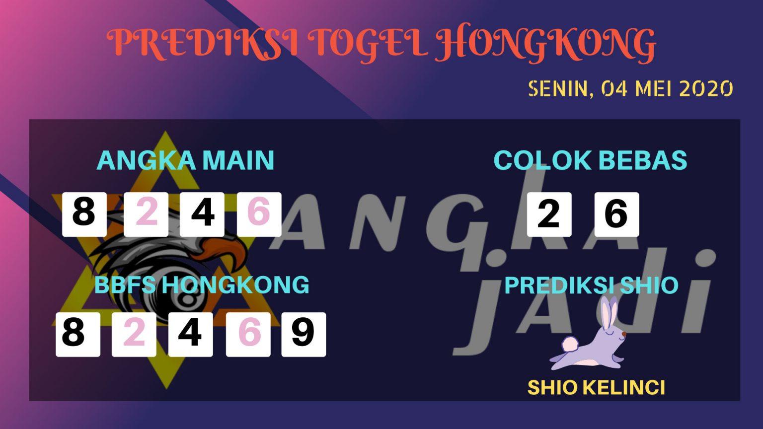 Prediksi Togel Hongkong 04 Mei 2020 - Prediksi Angka Jadi