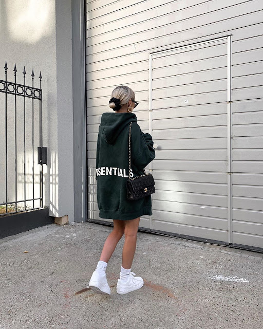 hoodie oversized dress
