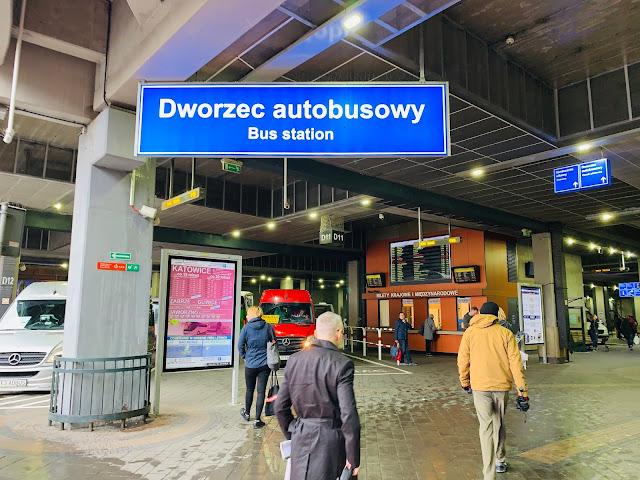 Krakow Dworzec Bus Station