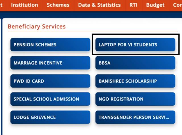 Odisha Free Laptop Yojana 2021