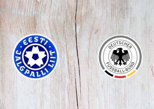 Estonia vs Germany Full Match & Highlights 13 October 2019