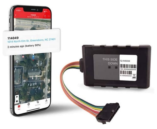 Logistimatics Hardwired 4G LTE Tracker for Vehicles