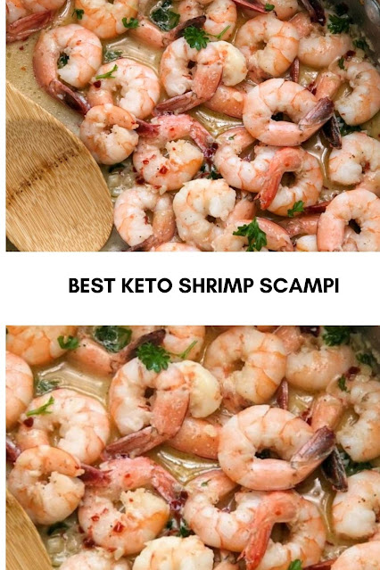BEST KETO SHRIMP SCAMPI
