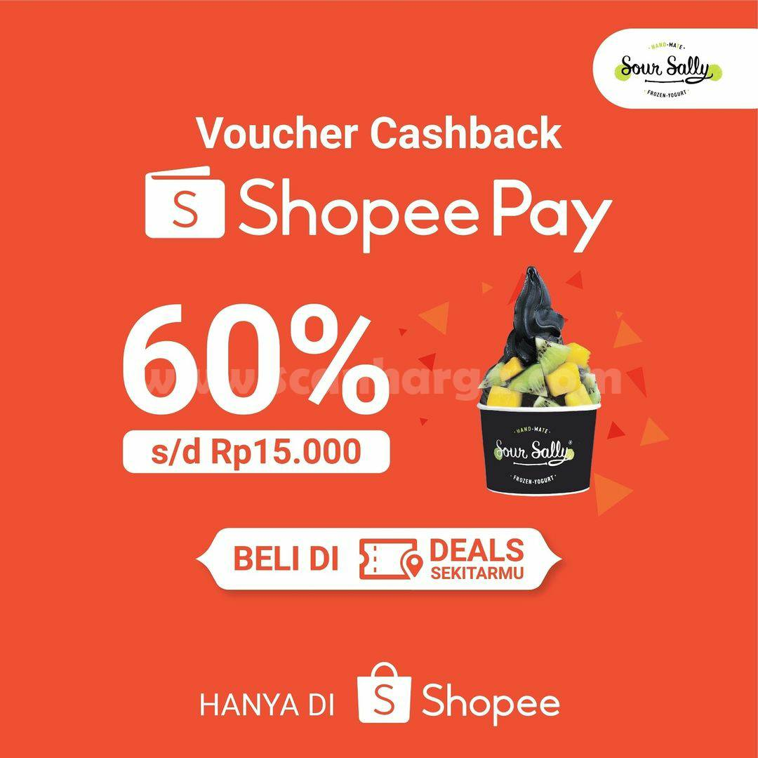 SOUR SALLY Sepesial Promo Voucher Cashback 60% ShopeePay