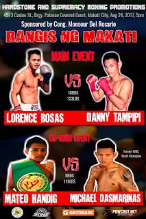 Bangis ng Makati: Rosas vs Tampipi on August 24