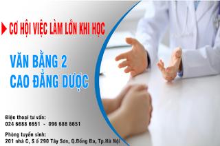 Văn bằng 2 cao đẳng y dược Hà Nội