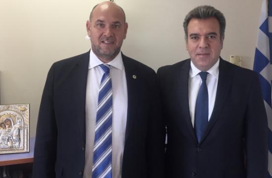Συνάντηση Μ. Κόνσολα με τον Πρόεδρο του ΕΚΑΒ για την κάλυψη των αναγκών σε τουριστικούς προορισμούς