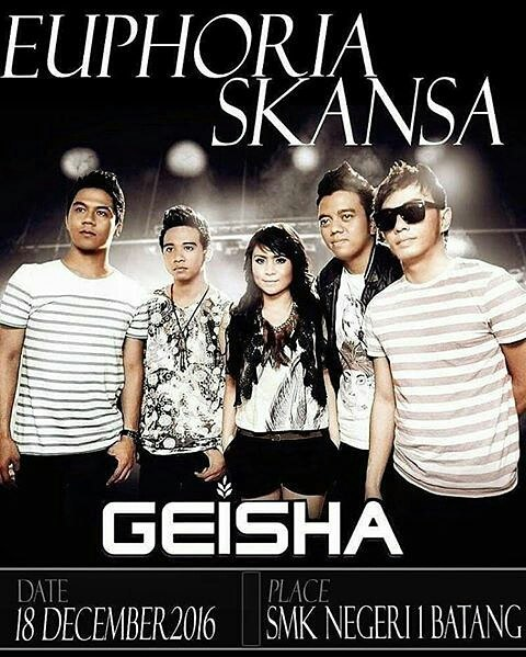 "Event Batang | 18 Desember 2016 | Dies Natalis SMK N 1 Batang ""Special Performance GEISHA"""