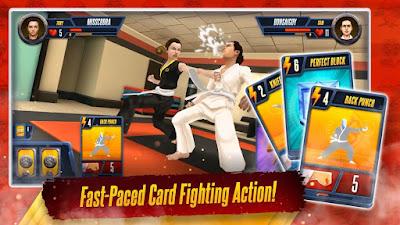 Cobra Kai Card Fighter MOD (Unlimited Money) APK v1.0.9
