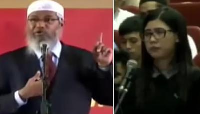 "Sambil Menangis, Wanita kristiani ini bertanya : ""Jika Masuk Islam Apakah Dosaku Diampuni?"" ini Jawaban DR Zakir Naik"