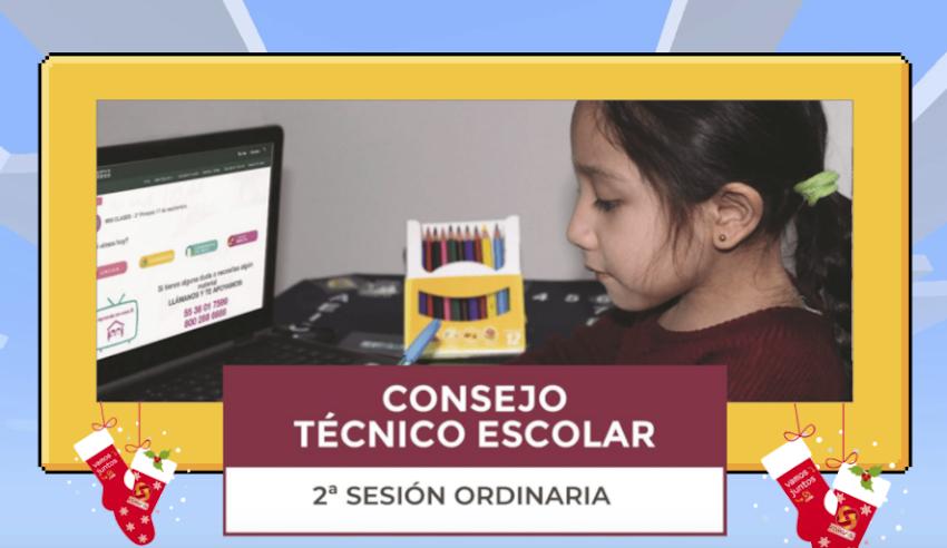 Segunda Sesión Ordinaria de Consejo Técnico Escolar 2020-2021 (Presentación Genially)