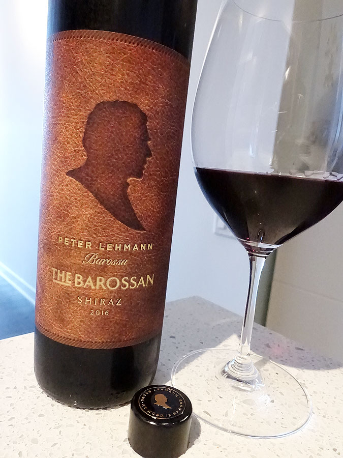 Peter Lehmann The Barossan Shiraz 2016 (88 pts)