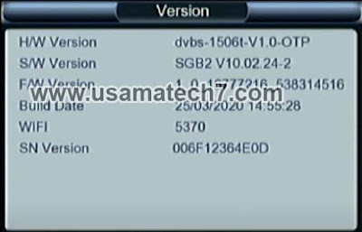 1506t SGB2 New Software 2020 - Panda Ag P100 HD Mini Receiver