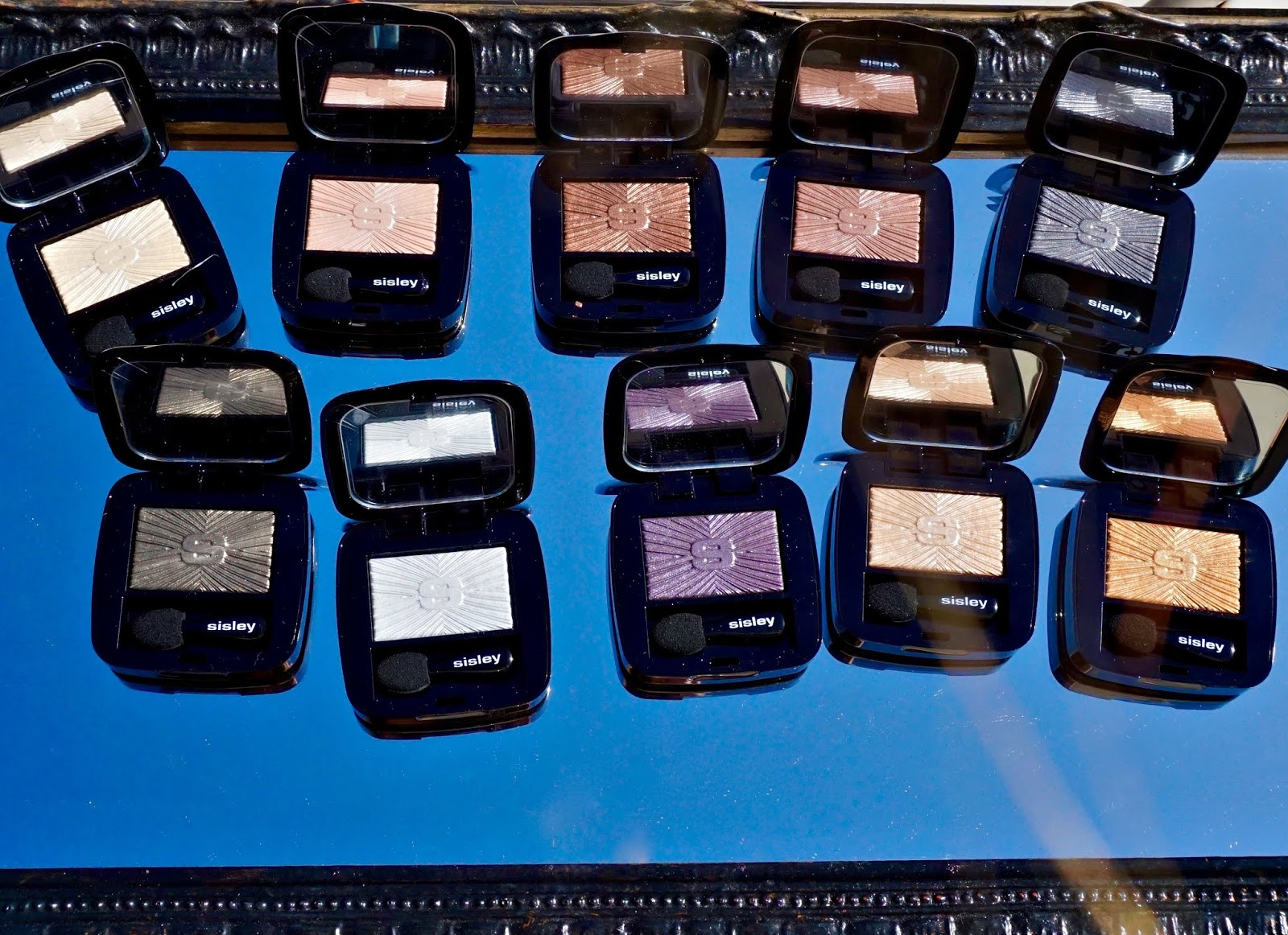 Sisley-Paris Les Phyto-Ombre Eyeshadow swatches