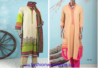 Junaid jamshed Adorable J. Winter Apparels for Girls/Women www.fashionwearstyle.com