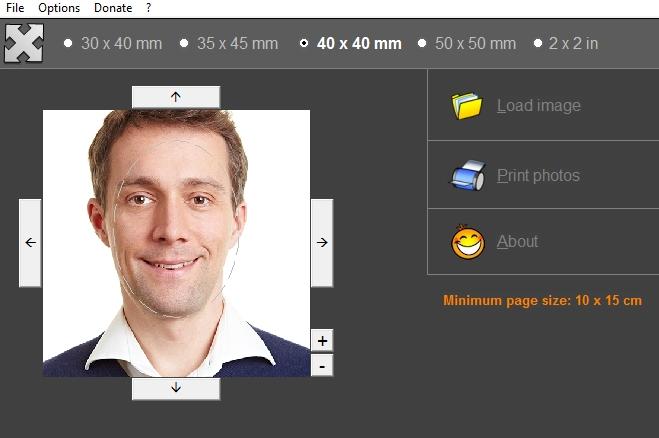 Print Passport Photo - Φτιάξτε εύκολα φωτογραφίες για Διαβατήριο και Ταυτότητα από το σπίτι σας ανέξοδα