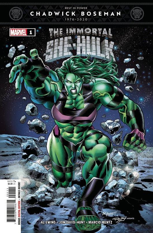 Cover of Immortal She-Hulk #1