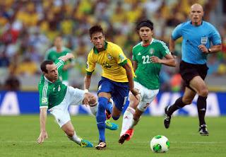 مشاهدة مباراة البرازيل والمكسيك بث مباشر