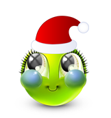 Christmas Smiley Icon 31