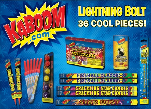 Wagjag Up to 70% off Fireworks from Kaboom