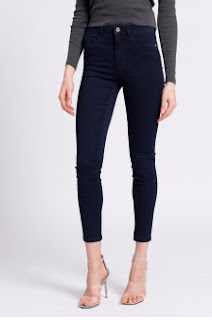 Only - Jeansi negri slim ieftini