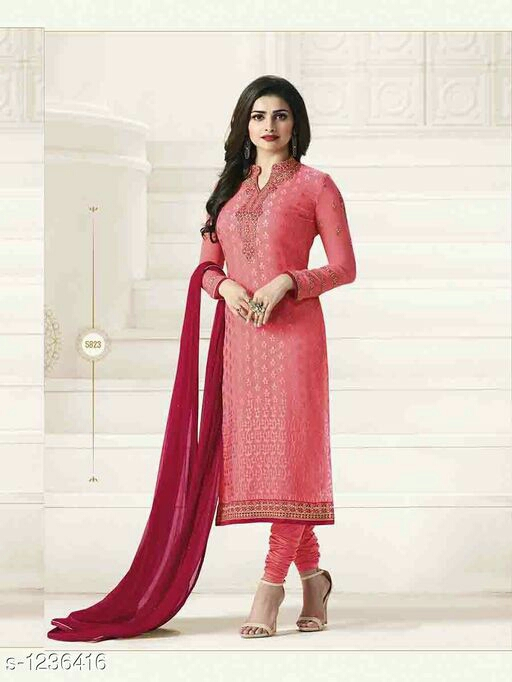 Elegant Georgette Suit & Dress