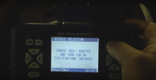 Choose OBDII adapter