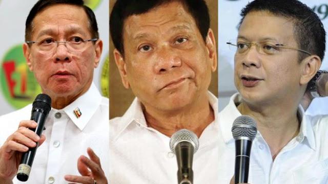 Sorsogon Governor Chiz Escudero pinagbibitiw sa tungkulin si DOH Secretary Duque