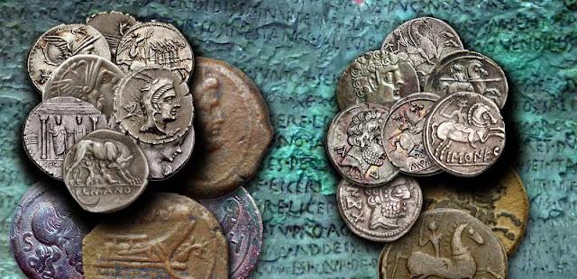 Monedas, contratos y Derecho romano