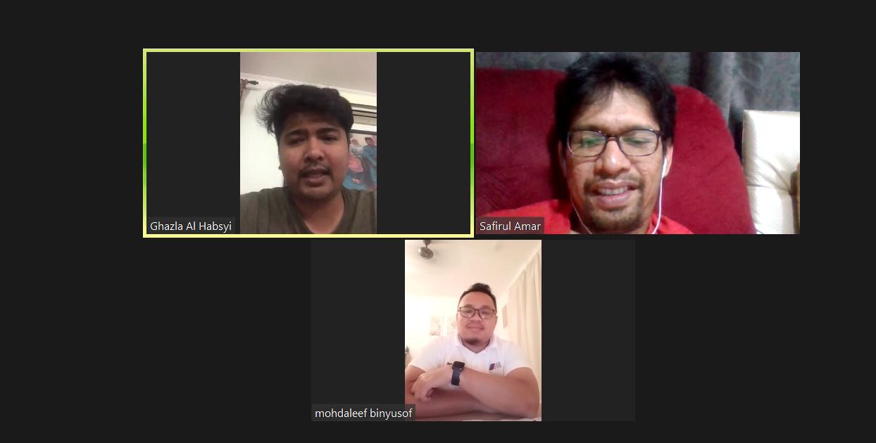 Meeting Online Di Waktu Perintah Kawalan Pergerakan