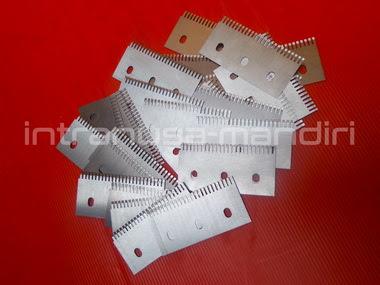 pisau perforasi, pisau zig zag, pisau kemasan renteng, pisau industri intranusa mandiri 0371